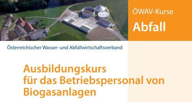 Ausbildung für das Betriebspersonal von Biogasanlagen, 1.03. – 3.03.2021
