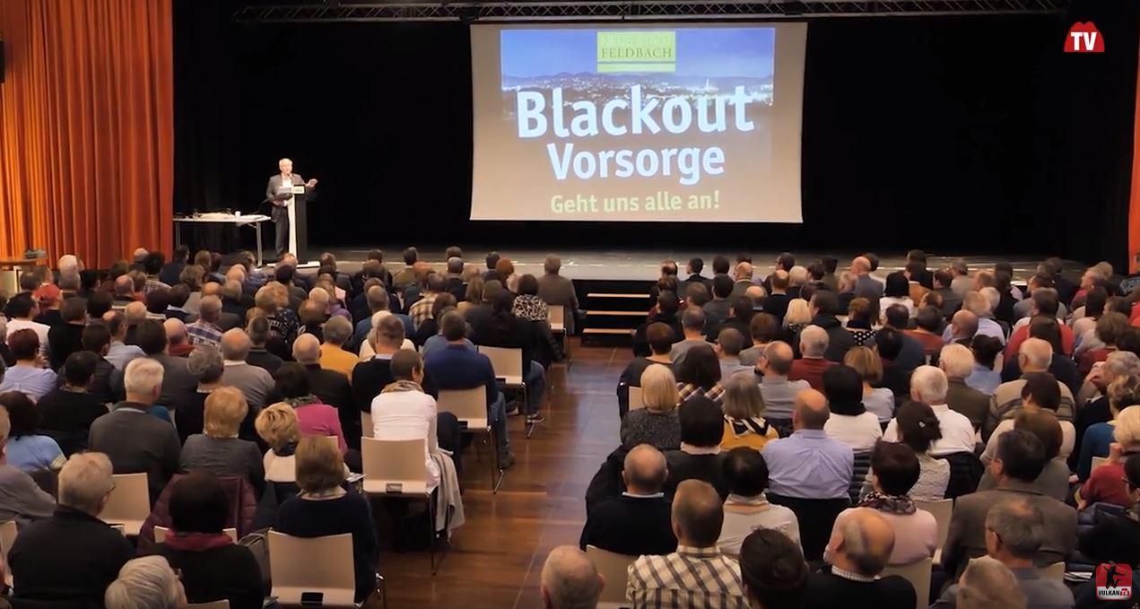 Blackout-Informationsabend in Feldbach