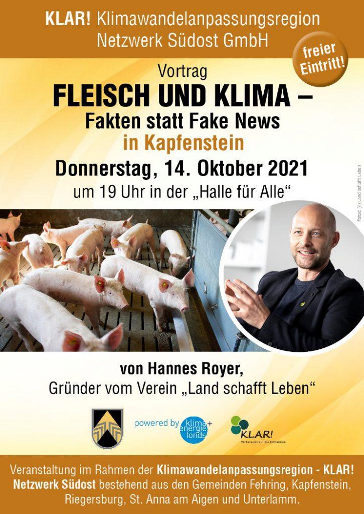 Fleisch und Klima Vortrag
