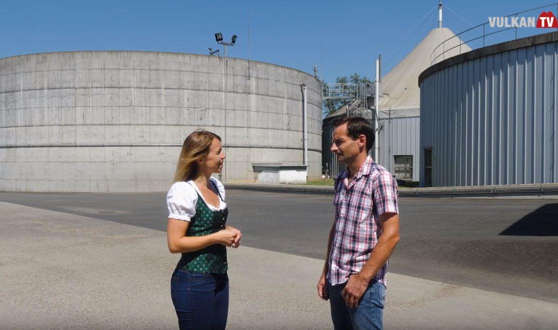 Voll Energie im Steirischen Vulkanland zu Gast bei der Biogasanlage in Saaz