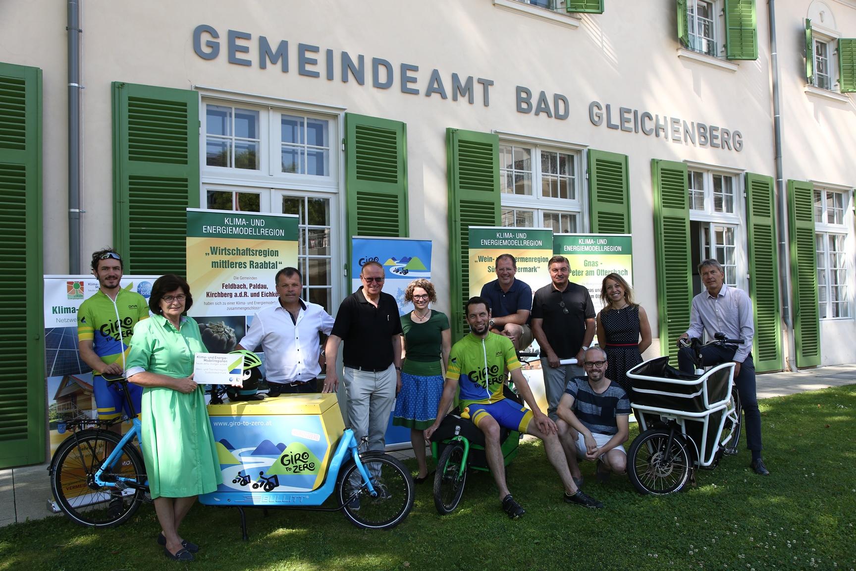 """Giro to Zero"" in Bad Gleichenberg"