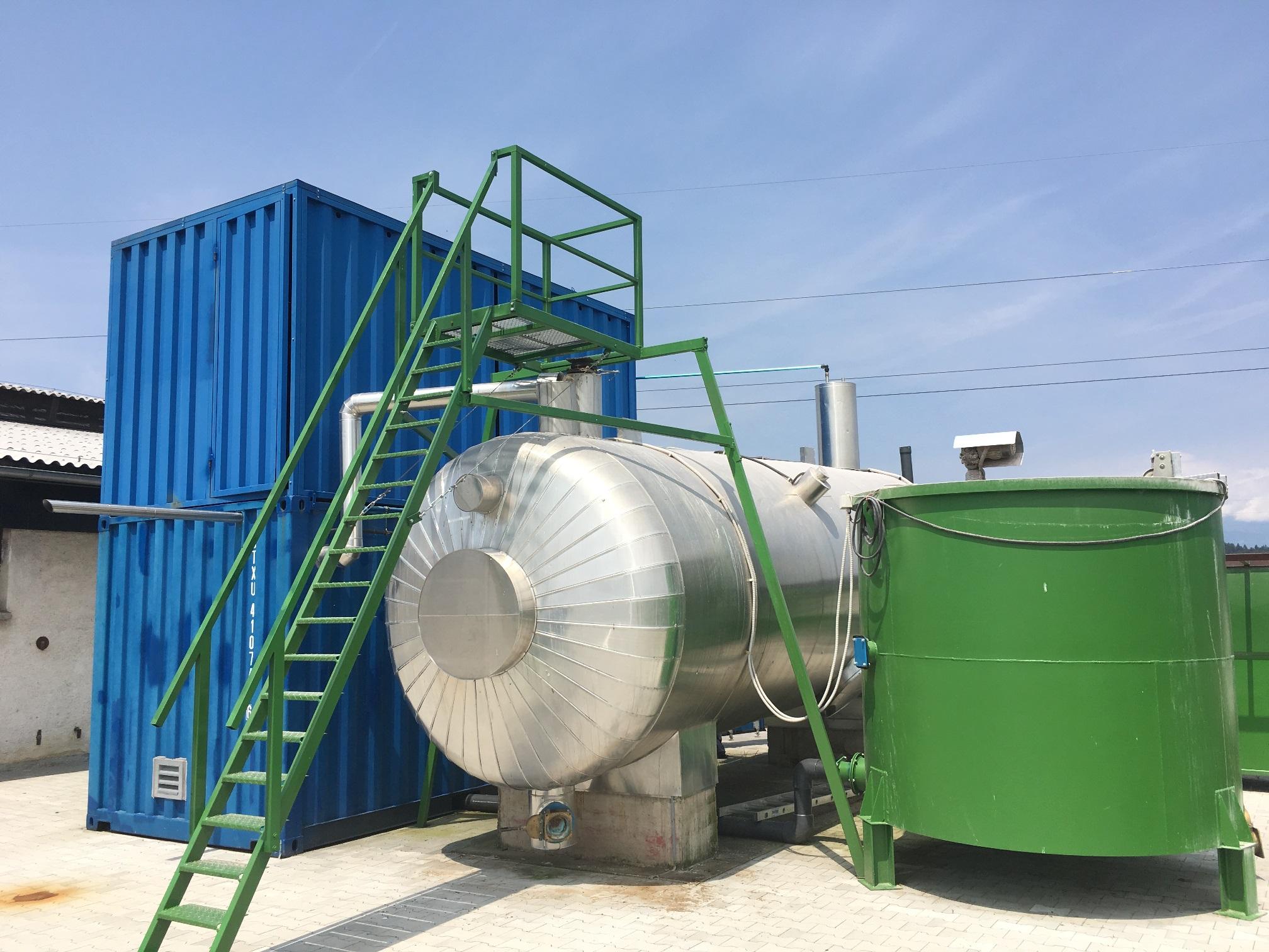 Kleine Biogasanlagen in die Spur bringen