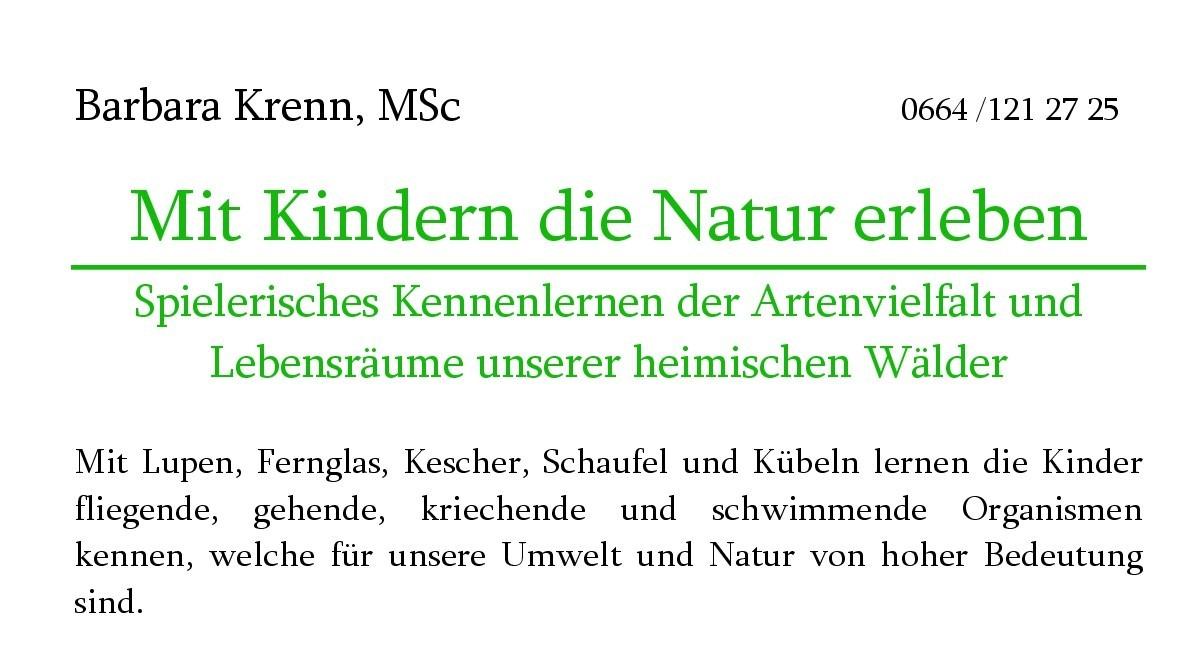 Mit Kindern die Natur erleben, Mai bis August 2020 in Riegersburg