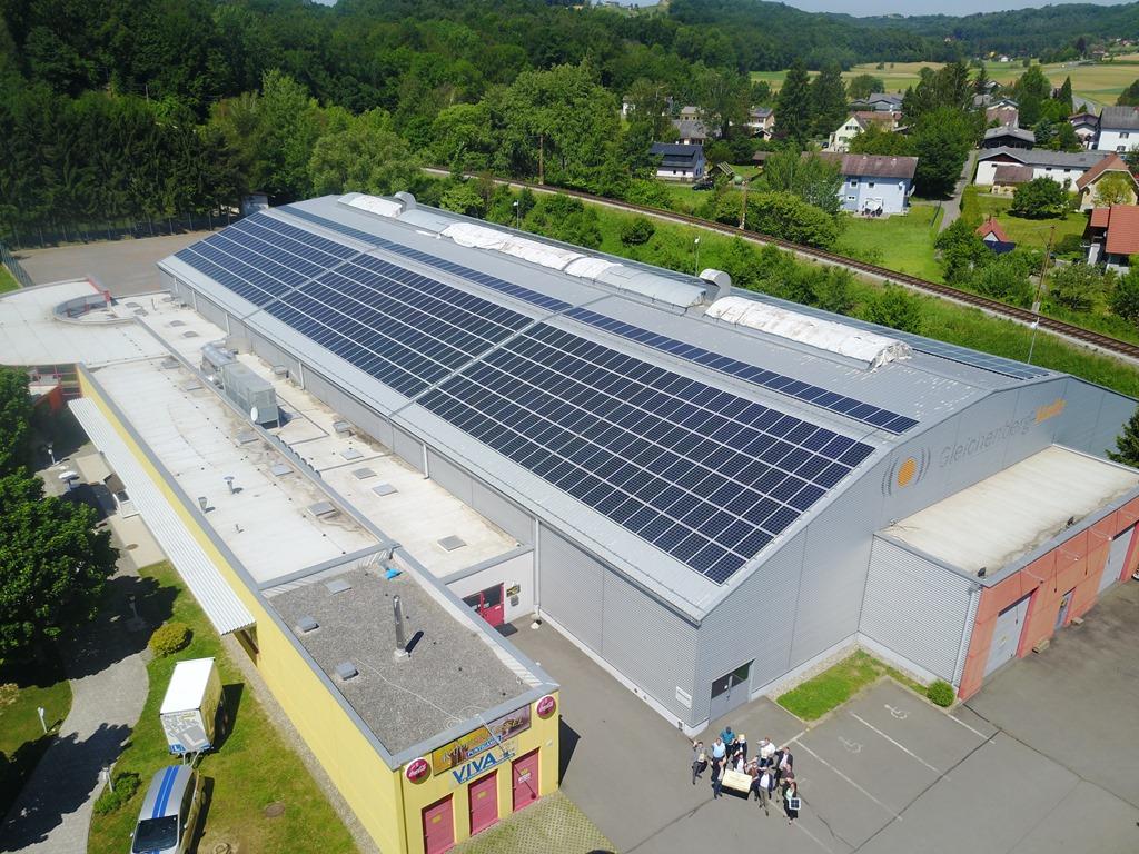 Eröffnung PV-Anlage Gleichenberger Halle (23.5.2017)