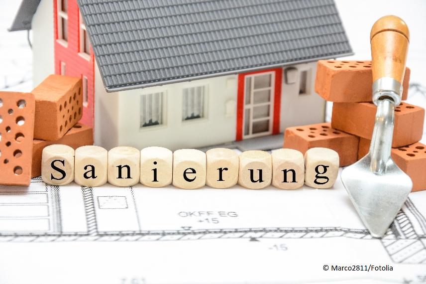 Wohnhaussanierung