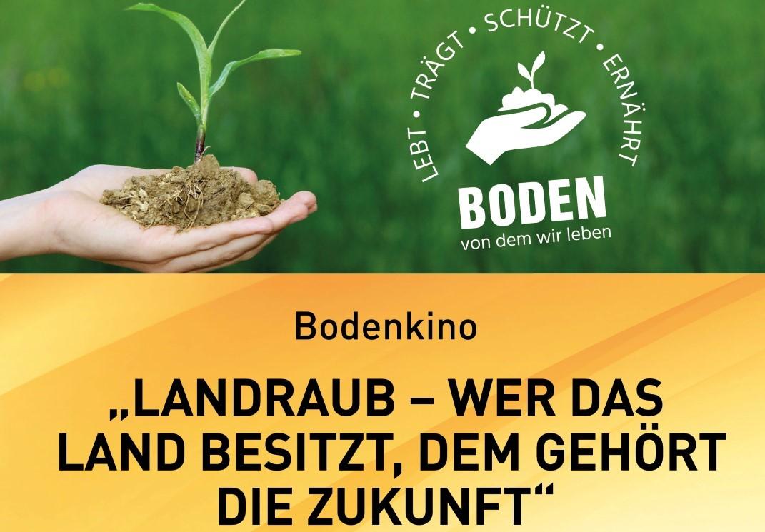 "Bodenkino ""Landraub"" am 28.01.2020 in Paldau"