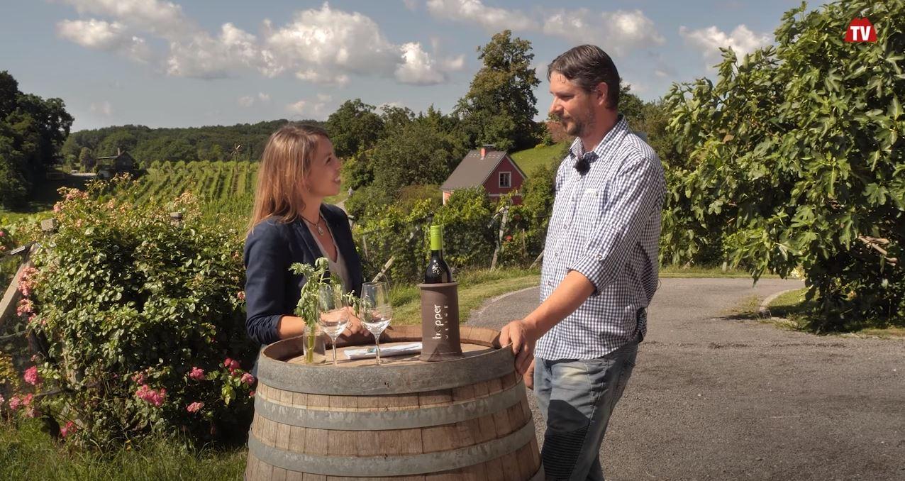 Voll Energie im Steirischen Vulkanland zu Gast bei Stradener Weinbaubetrieben