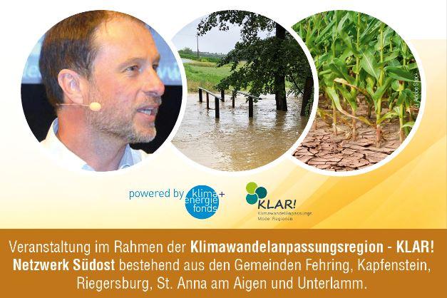 Der Klimawandel in der Südoststeiermark – Zwischen Hitze und Starkregen, 05.11.2020, Kapfenstein