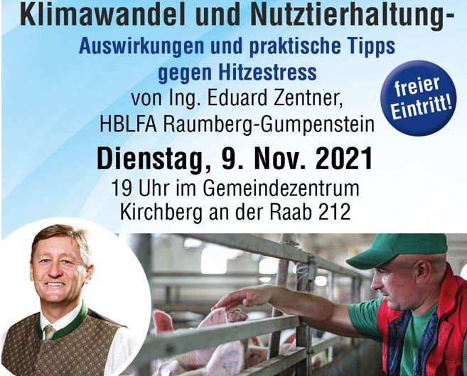 Klimawandel Hitzestress Nutztierhaltung Kirchberg