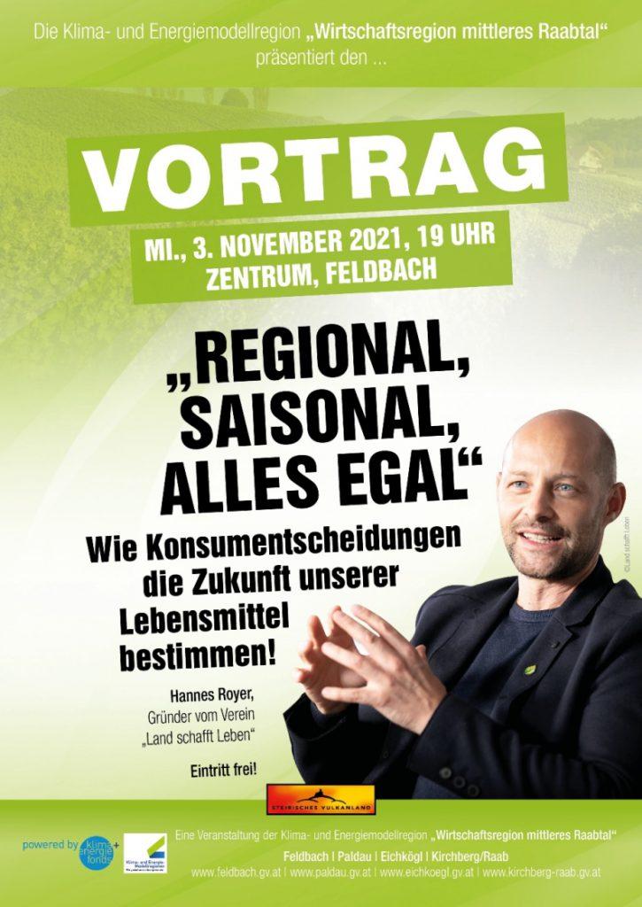 Regional, saisonal, alles egal?