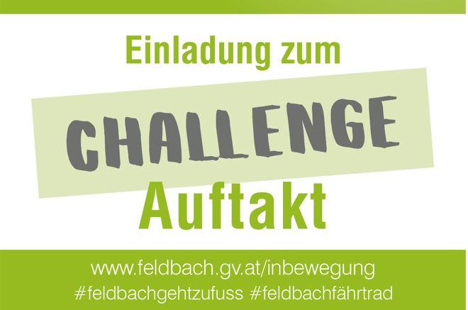 Einladung Challenge Auftakt